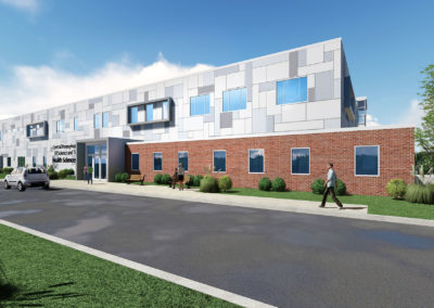 CPI - Health Sciences ~ Exterior Overview, Rear, Day