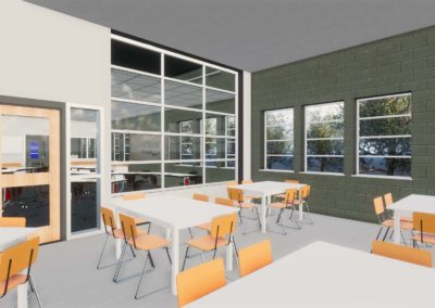 Caldwell County - Granite Falls - Middle School ~ Interior Rending STEM Space 6