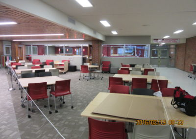 Indiana - IASHS ~ High School - Interior study Hall 1