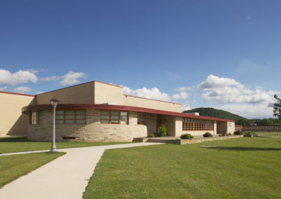 Mount Union - MUJSHS ~ Jr Sr High - Exterior 1