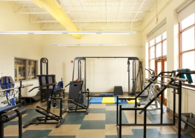 Mount Union - MUJSHS ~ Jr Sr High - Interior Fitness Room [MKH]