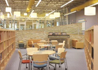 Mount Union - MUJSHS ~ Jr Sr High - Interior Library 1 [MKH]