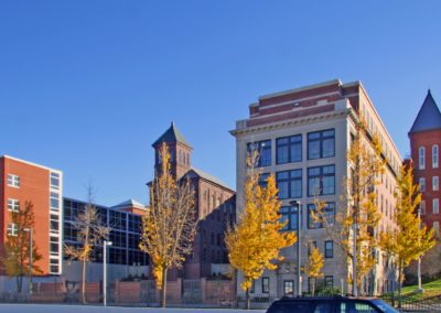 Reading - Intermediate High ~ Exterior, Main Facade (KM)