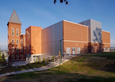 Reading - Intermediate High ~ Exterior, Rear Overview with Tower (MH)