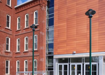 Reading - Intermediate High ~ Exterior, Tower Side Entrance (MH)