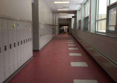 Westmont HT Jr&Sr High School - Westmont Hilltop - High School ~ Interior Corridor 2 (VM)