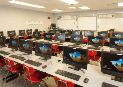 Westmont HT Jr&Sr High School - Westmont Hilltop - High School ~ Interior STEM Suite(KM)