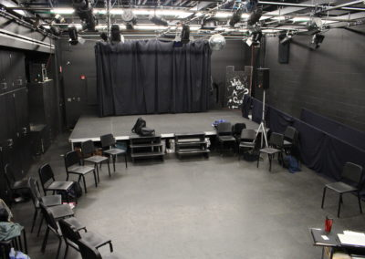Williamsport - WAHS ~ HS - Interior Blackbox Theatre