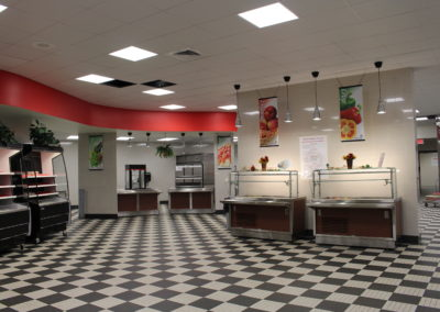 Williamsport - WAHS ~ HS - Interior Food Service 1